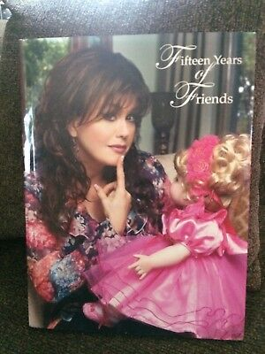 2005 ~ Autographed Marie Osmond ~ Fifteen Years of Friends Doll Book