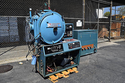 Centorr Industries Vacuum Furnace Hydrogen Burn-Off Diffusion Ion Pump + XFMR