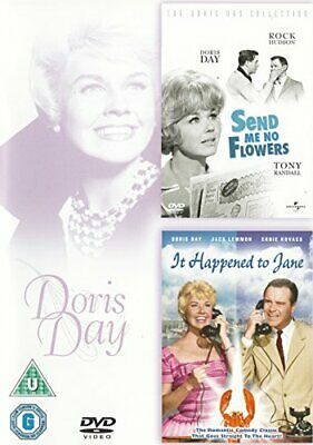 Doris Day Send Me No Flowers/It Happened To Jane DVD -  CD GYVG The Fast Free