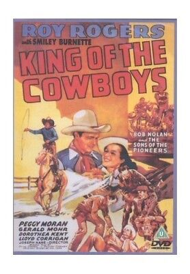 King Of The Cowboys [DVD] -  CD JULN The Fast Free Shipping