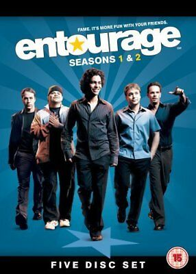 Entourage: Complete HBO Seasons 1&2 Box Set [DVD] -  CD C4VG The Fast Free