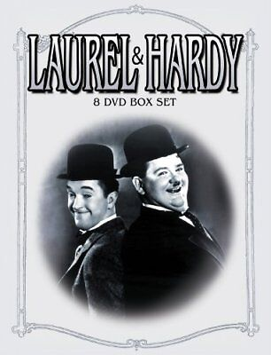 The Laurel & Hardy Collection 8 DVD Set -  CD SQVG The Fast Free Shipping