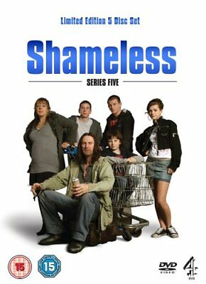 Shameless Series 5 (Limited Edition 5-Disc Box Set) [DVD] -  CD 4SVG The Fast