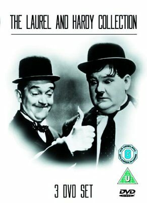 The Laurel & Hardy Collection 3 DVD Set [2007] -  CD 6CVG The Fast Free Shipping