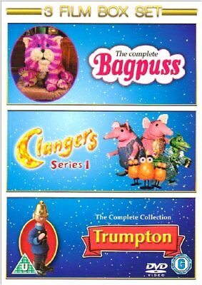 Bagpuss: Complete / Clangers: Series 1 / Trumpton: Complete [DVD] -  CD L0VG The