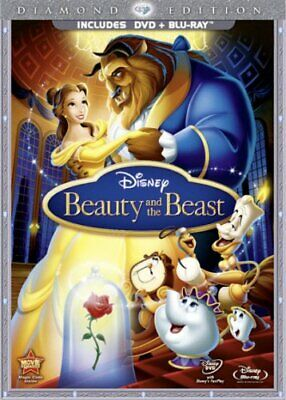 Beauty and the Beast (DVD + Blu-ray, with DVD Packaging) -  CD U0VG The Fast