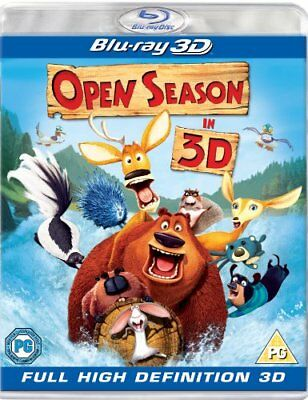 Open Season 3D (Blu-ray 3D) [2010] [Region Free] -  CD E2VG The Fast Free