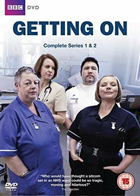 Getting On - Complete Series 1 and 2 Box Set [DVD] -  CD 9QVG The Fast Free