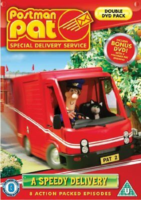 Postman Pat - A Speedy Delivery [DVD] -  CD 1AVG The Fast Free Shipping