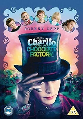Charlie and the Chocolate Factory [DVD] [2005] -  CD MSVG The Fast Free Shipping