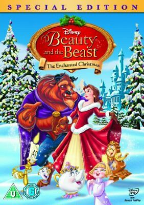 Beauty and the Beast The Enchanted Christmas [DVD] -  CD G4VG The Fast Free