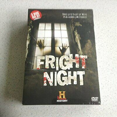 Fright Night - True Life Tales Of Real Paranormal Mysteries 3 Disc... -  Cd Pavg