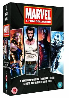 Marvel 4 Film Collection [DVD] [2003] -  CD 5UVG The Fast Free Shipping