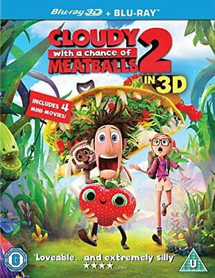 Cloudy with a Chance of Meatballs 2: Revenge of the Leftovers [Blu... -  CD WYVG