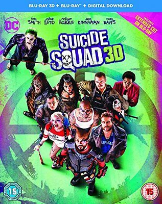Suicide Squad [Includes Digital Download] [Blu-ray 3D] [2016] [Reg... -  CD L6VG