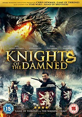 Knights Of The Damned [DVD] -  CD 87VG The Fast Free Shipping