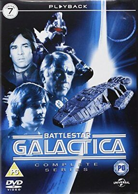 Battlestar Galactica - The Complete Series [1978] [DVD] -  CD XJVG The Fast Free