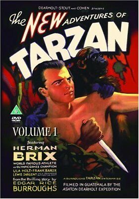 The New Adventures Of Tarzan - Vol. 1 [DVD] -  CD D2VG The Fast Free Shipping