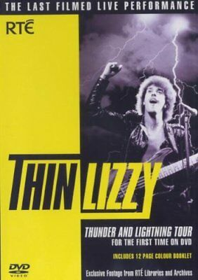 Thin Lizzy: Thunder And Lightning Tour [DVD] -  CD TKVG The Fast Free Shipping