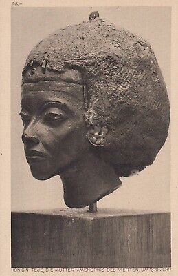 Postcard - Queen Teje, the mother of Amenhotep