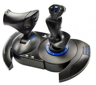 Thrustmaster T-Flight Hotas 4 Joystick y Acelerador Set