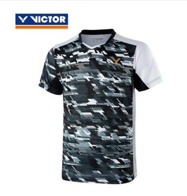 Hot! New Victor badminton Tops sportswear tennis Clothing men's Tee shirt