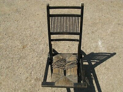 Brilliant Damaged Antique Victorian Wooden Folding Chair For Repair Caraccident5 Cool Chair Designs And Ideas Caraccident5Info