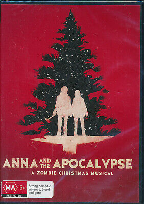 Anna And The Apocalypse DVD A Zombie Christmas Musical NEW Region 4