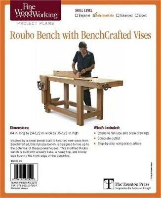 Fine Woodworking's Roubo Bench with Bench Crafted Vises Plan