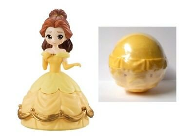 "BELLE Disney Princess Heroine Doll Figure in a 'Surprise Ball"" Bandai Japan"