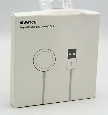 Original Apple Watch Magnetic Charging Cable (0.3m) MLLA2AM/A New