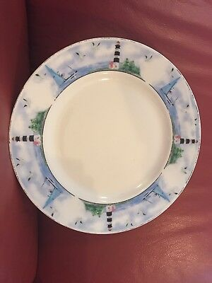 "THOMSON POTTERY LIGHTHOUSE 10.5"" Dinner Plates - $4.50 