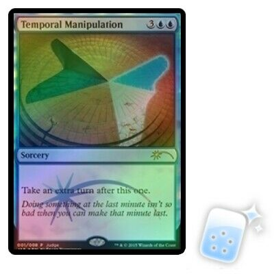TEMPORAL MANIPULATION Ultimate Masters Magic MTG MINT CARD
