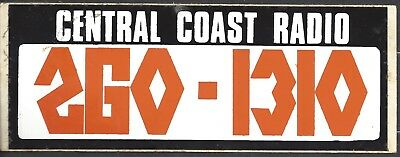 1310 2Go Central Coast Radio 80's Radio Station Sticker