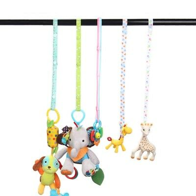 1xNEW Baby Pacifier Anti-lost Chain Hanger Belt Holder Toys Stroller Strap Fixed