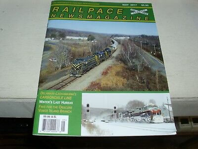 Railpace Magazine May 2017 - DL Carbondale Line - Winter - Venice Island Branch