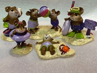 Wee Forest Folk Special 5 Piece Special Color Lavender Beach Set