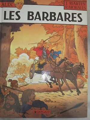 ALIX  - J Martin/ R Morales 21les barbaresEOoct-98 COMME NEUF !!