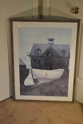 Pair of Large Vintage Andrew Wyeth Print