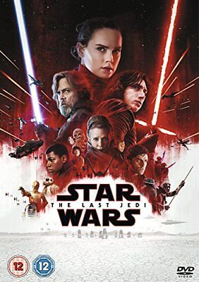 Star Wars: The Last Jedi [DVD] [2017] -  CD 3GVG The Fast Free Shipping