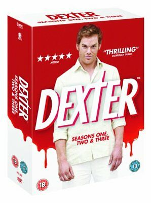 Dexter - Seasons 1-3 Complete [DVD] -  CD K6VG The Fast Free Shipping