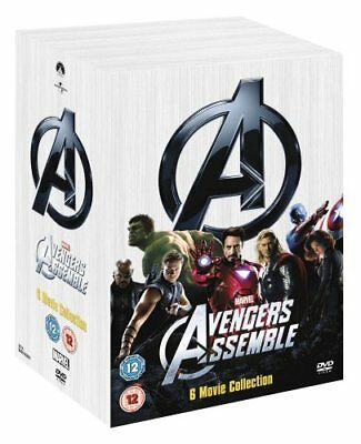 Marvel's The Avengers 6-Movie Collection [DVD] [2008] -  CD V0VG The Fast Free