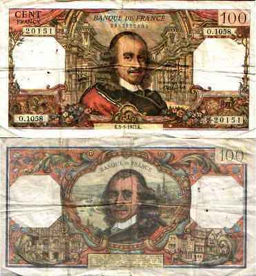 FRANCE - FRENCH - 100 Francs CORNEILLE (Type 1964)  F 65 / 57 TB
