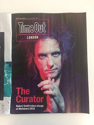 Time Out Magazine The Cure Meltdown Celebration Goth London Robert Smith