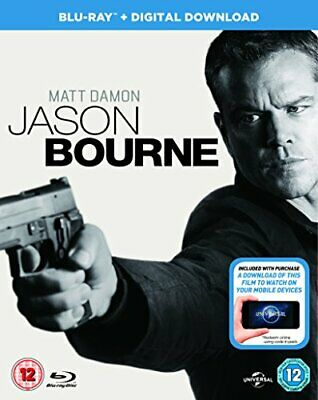 Jason Bourne (Blu-ray + Digital Download) [2016] -  CD Z6VG The Fast Free