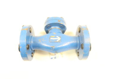 Bonney Forge 600 Steel Flanged 1in Piston Check Valve