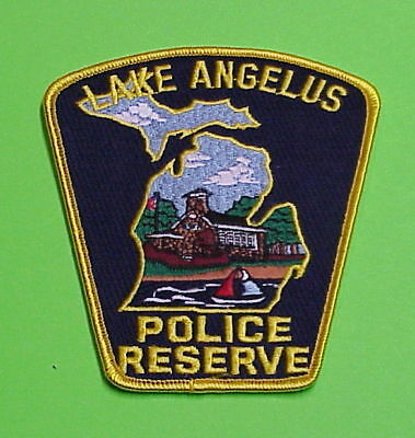 Lake Angelus  Michigan  Mi   Police Reserve  Police Patch   Free Shipping!!!
