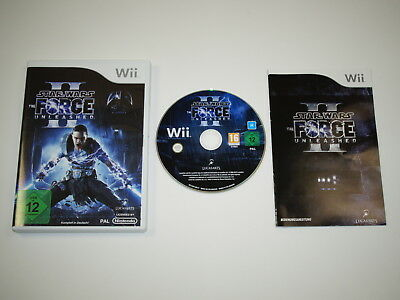Nintendo Wii Spiel Star Wars The Force Unleashed 2 ~5430