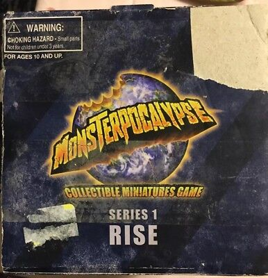 Monsterpocalypse Starter Set Series 1 Rise  Miniature Game with Sky Sentinel