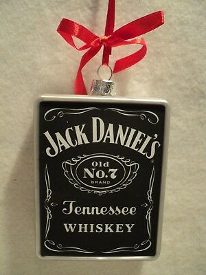 """JACK DANIEL'S OLD NO. 7 WHISKEY"" Ornament"